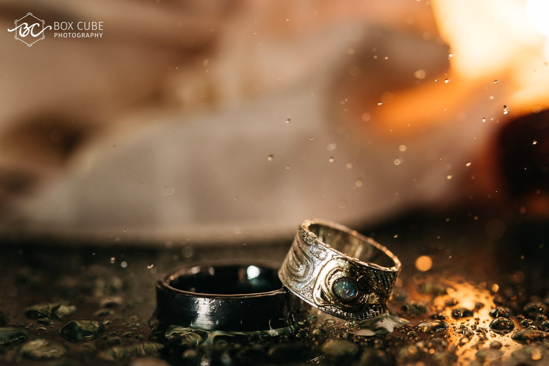 Ring Shot Fairmont Macdonald Wedding