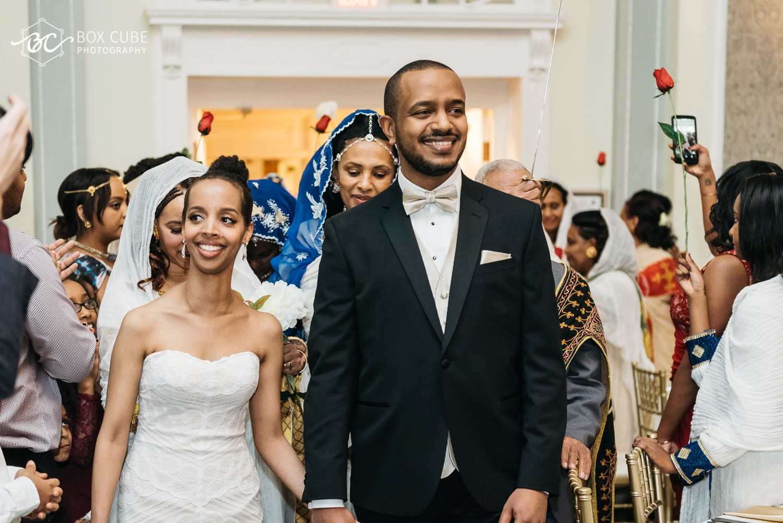 Eritrean reception dance at Hotel Fairmont Macdonald, Edmonton Wedding Photographers