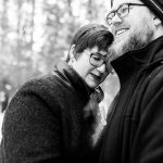 The Olson's Engagement Session at Edmonton's Whitemud Park