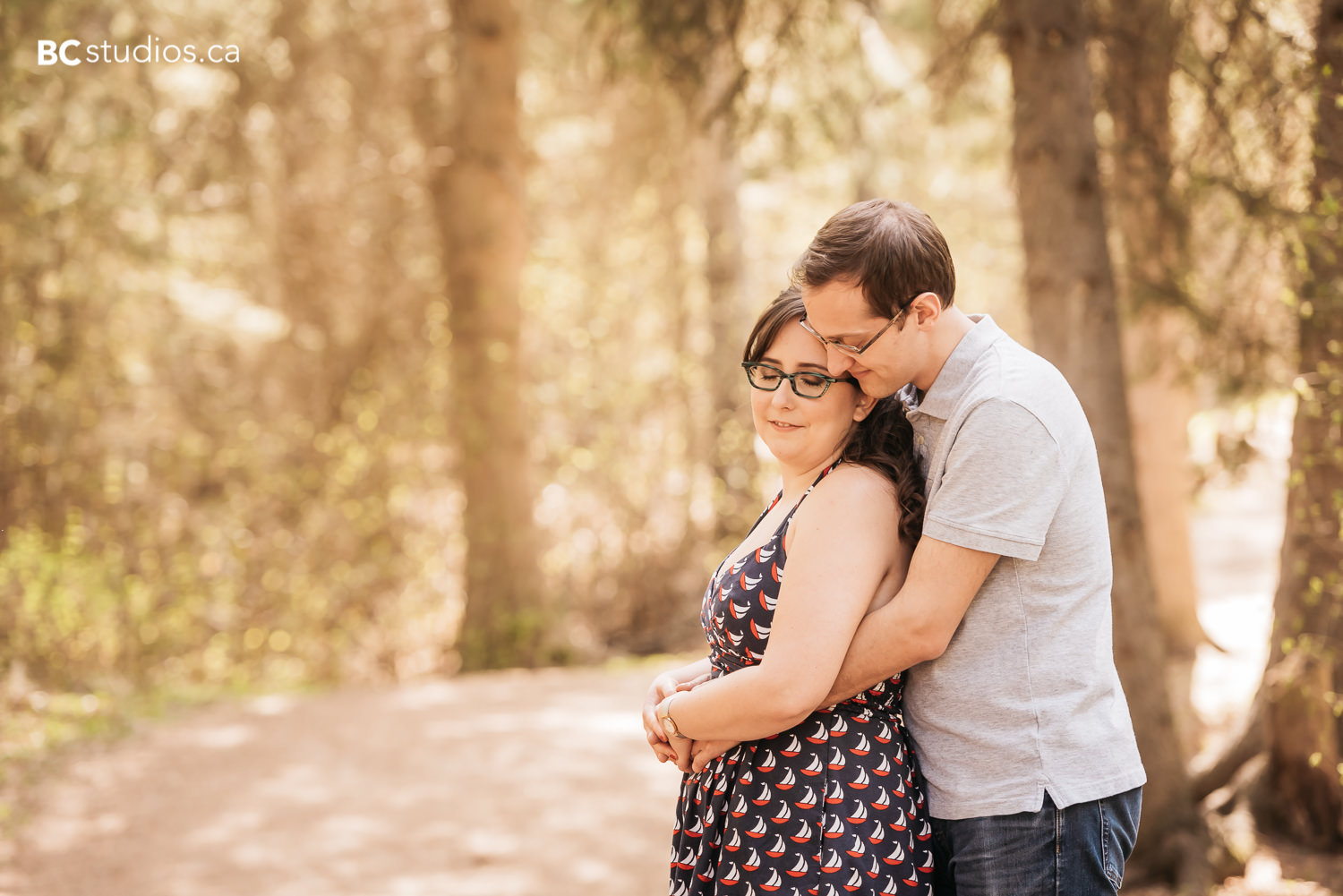 The Di Lullo's Engagement Session at Whitemud Ravine Edmonton