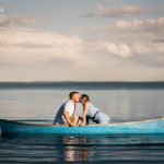 The Furgesons' Engagement Session at Wabamun Lake