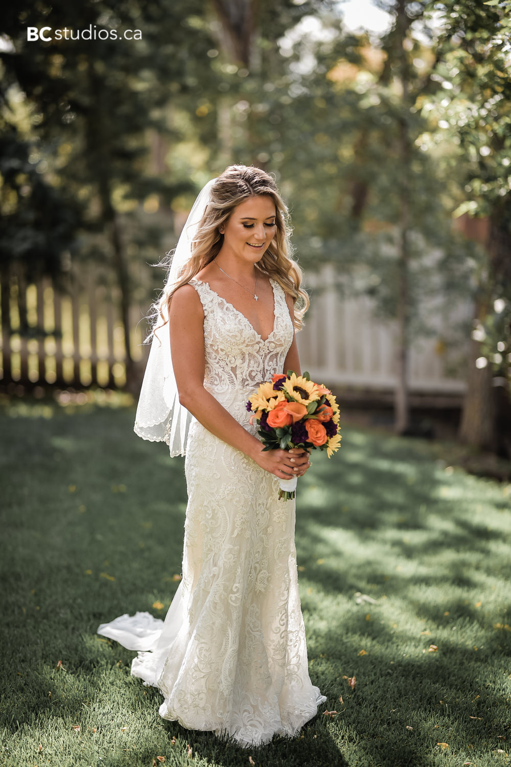 Fall wedding at Greystone Gardens Bed and Breakfast