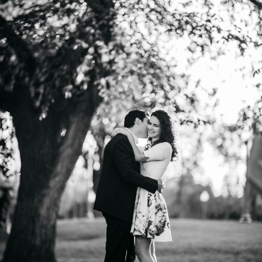 Engagement Session at Government House, Edmonton