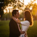 Paola & Olsi's Engagement Session at Edmonton's Government House