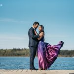 Kataria Engagement Session at Wabamun Lake, Alberta