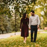 The Bath's Engagement Session at Edmonton's Alberta Legislature Building