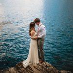 Your Laughter // Wedding Shoot at Lake Minnewanka